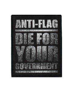 ANTI-FLAG 'Government' Patch