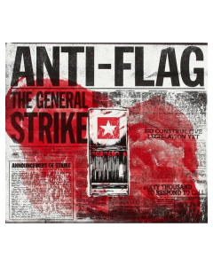 ANTI-FLAG 'The General Strike' CD DigiPak