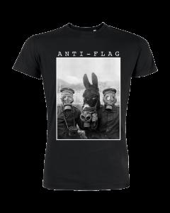 ANTI-FLAG 'Donkey Gasmask' T-Shirt