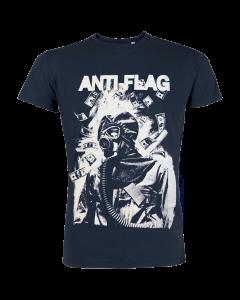 ANTI-FLAG 'Mask' T-Shirt blue