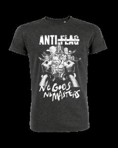 ANTI-FLAG 'No Gods, No Masters' T-Shirt